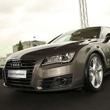 Премьера Audi A7 Sportback. Фото №1