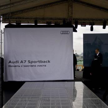 Премьера Audi A7 Sportback. Фото №3