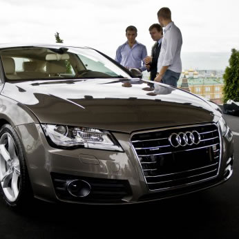 Премьера Audi A7 Sportback. Фото №7
