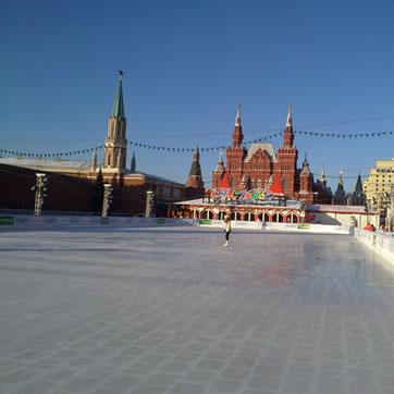 Каток ГУМа. Фото №3